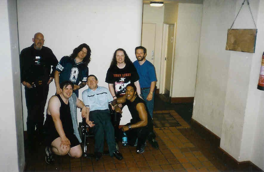 Meeting the boys limehouse lizzy for House music 2003